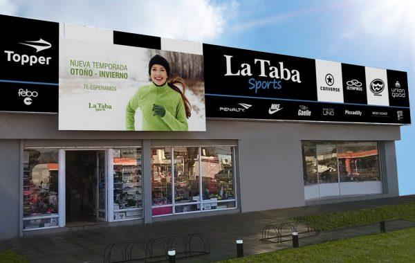 Cartelería lnstitucional La Taba