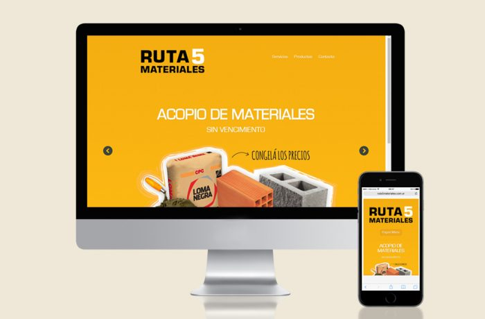 Ruta 5 Materiales